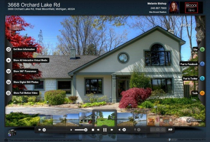 screen shot of Fusion Virtual Tour offered by XL Visions