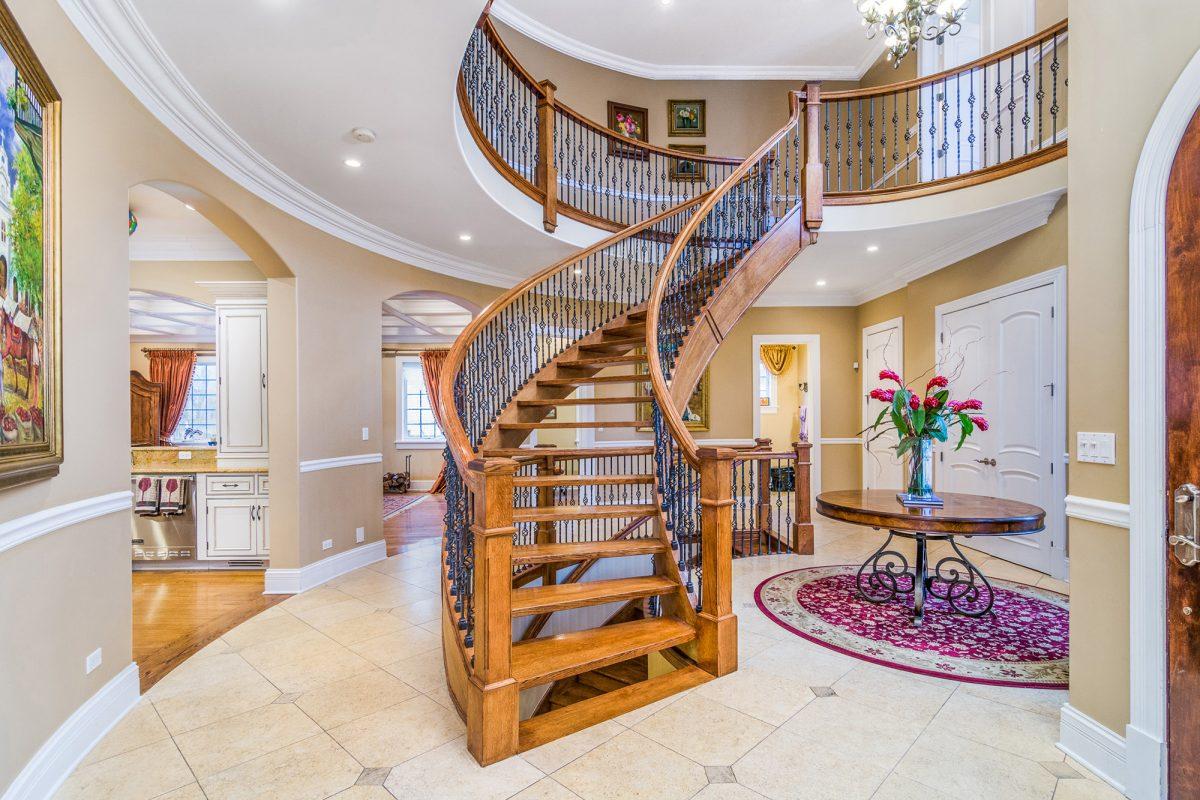 Entrance Hallway at a majestic property